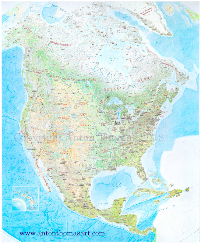graphic relating to Printable Map of North America With Labels titled Exactly where upon World is the map?